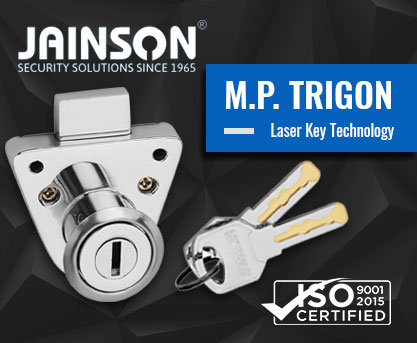 Multipurpose Tri-gon - Furniture Locks - Multi Purpose Locks